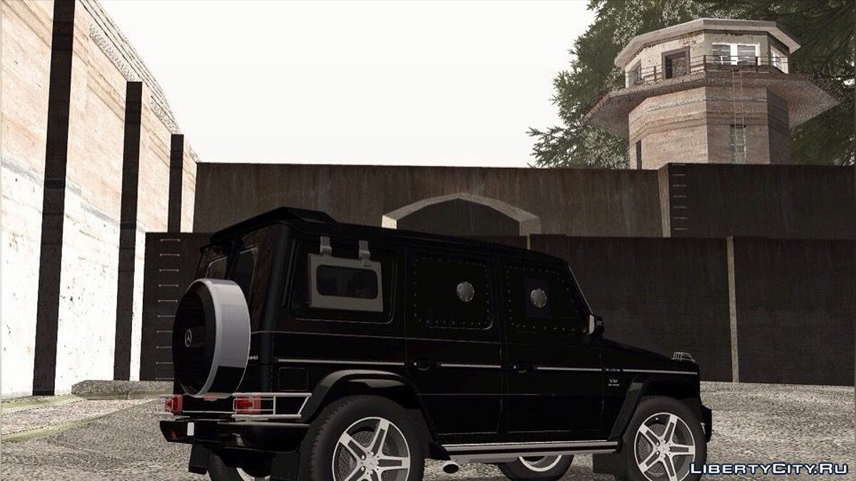 Mercedes-Benz car Mercedes-Benz G500 Rida for GTA San Andreas