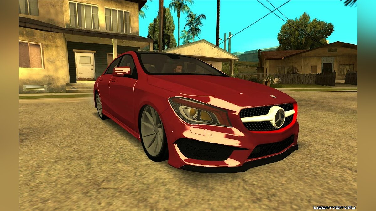 Mercedes-Benz car Mercedes-Benz CLA 250 for GTA San Andreas