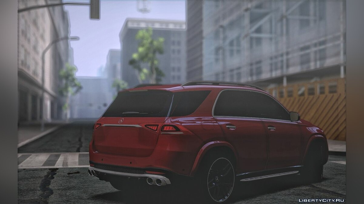 Mercedes-Benz car Mercedes-Benz GLE AMG for GTA San Andreas
