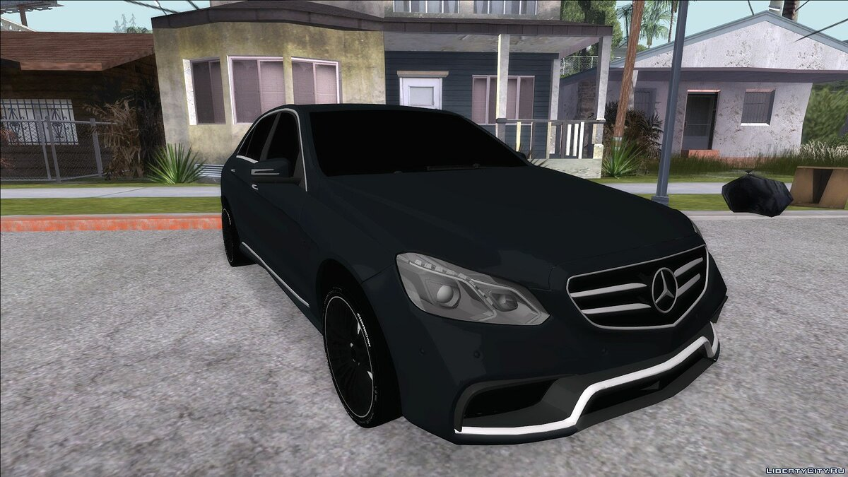 Mercedes-Benz car Mercedes-Benz E63 AMG for GTA San Andreas
