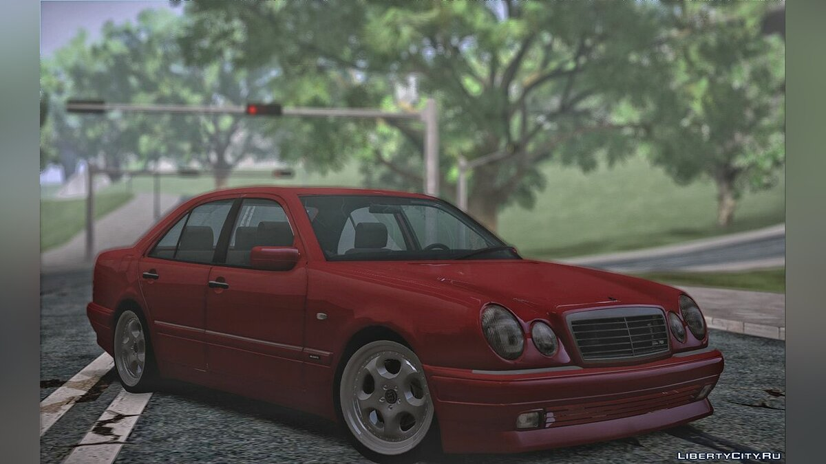 Mercedes-Benz car Mercedes-Benz W210 7.3S Brabus 1995 for GTA San Andreas