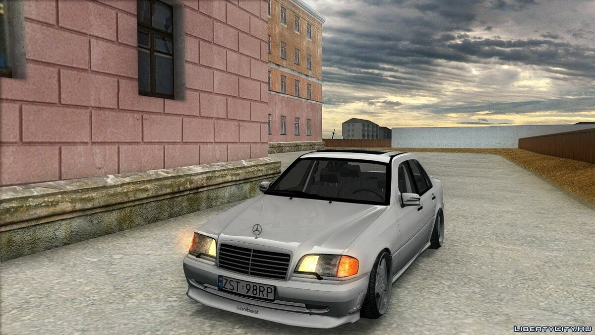 Mercedes-Benz car Mercedes-Benz C55 W202 for GTA San Andreas