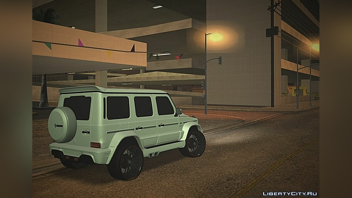 Mercedes-Benz car Mercedes-Benz Brabus G65 for GTA San Andreas