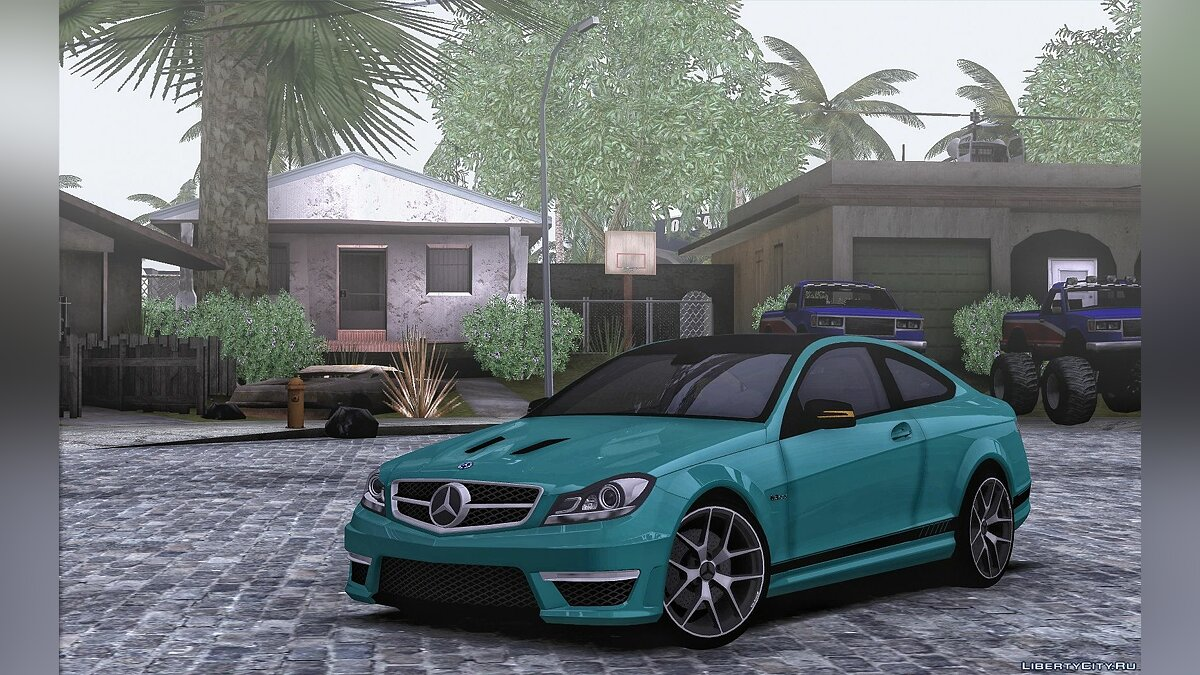 Mercedes-Benz car Mercedes-Benz C63 AMG w204 Coupe for GTA San Andreas