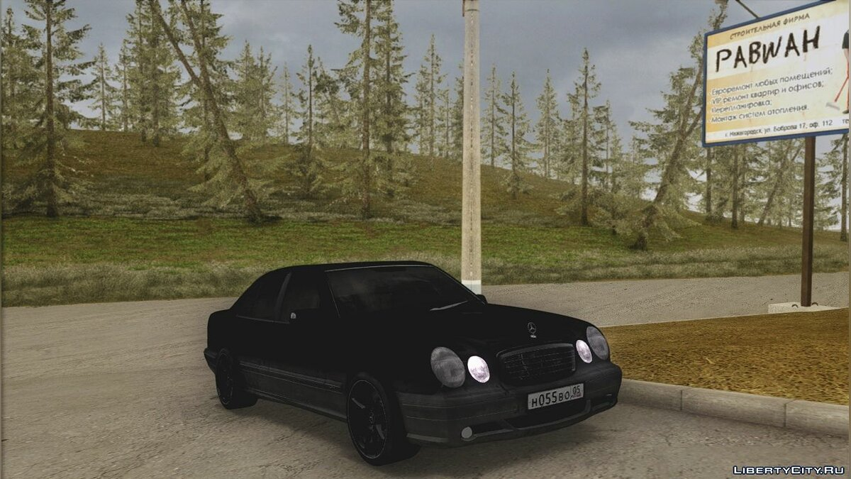Mercedes-Benz car Mercedes-Benz E55 W210 AMG for GTA San Andreas
