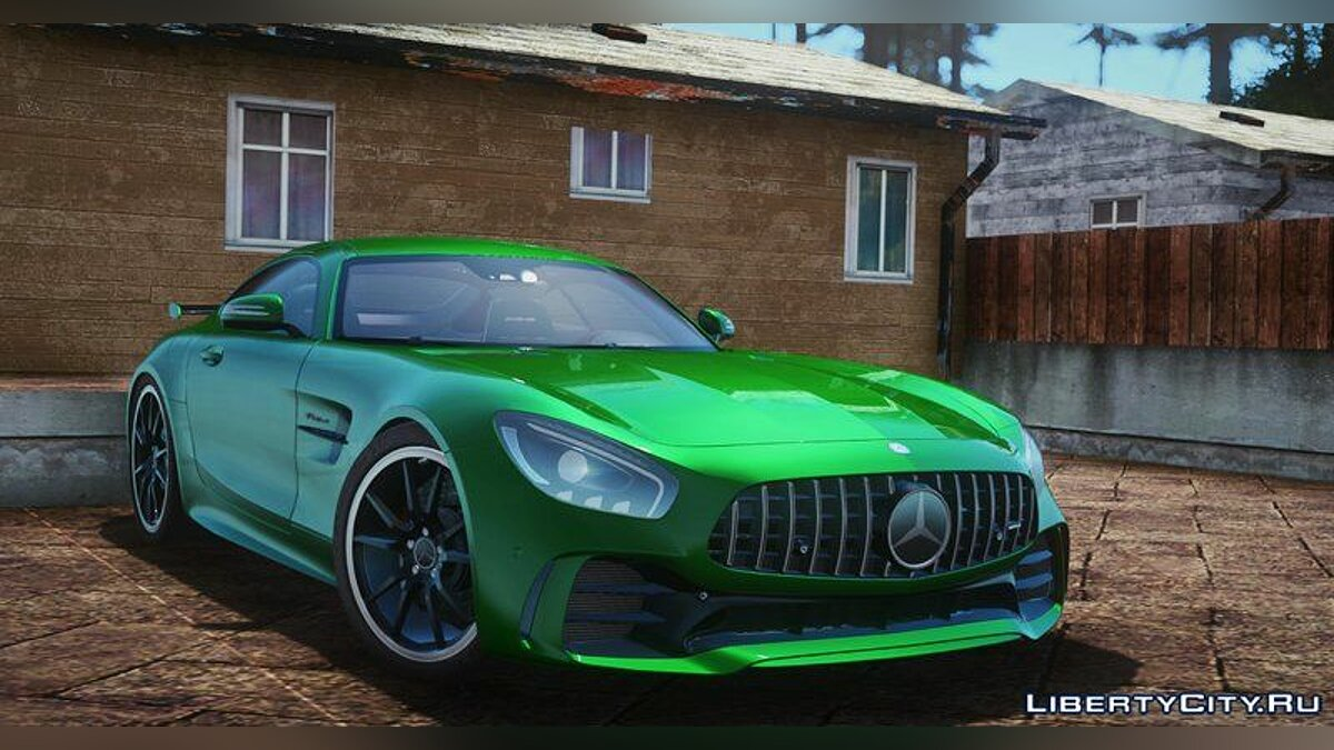 Mercedes-Benz car 2017 Mercedes AMG GT R for GTA San Andreas