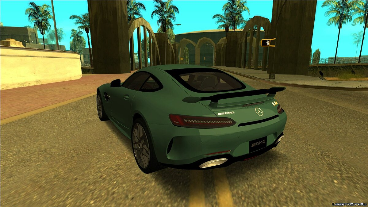 Mercedes-Benz car Mercedes-Benz AMG GT 2020 for GTA San Andreas