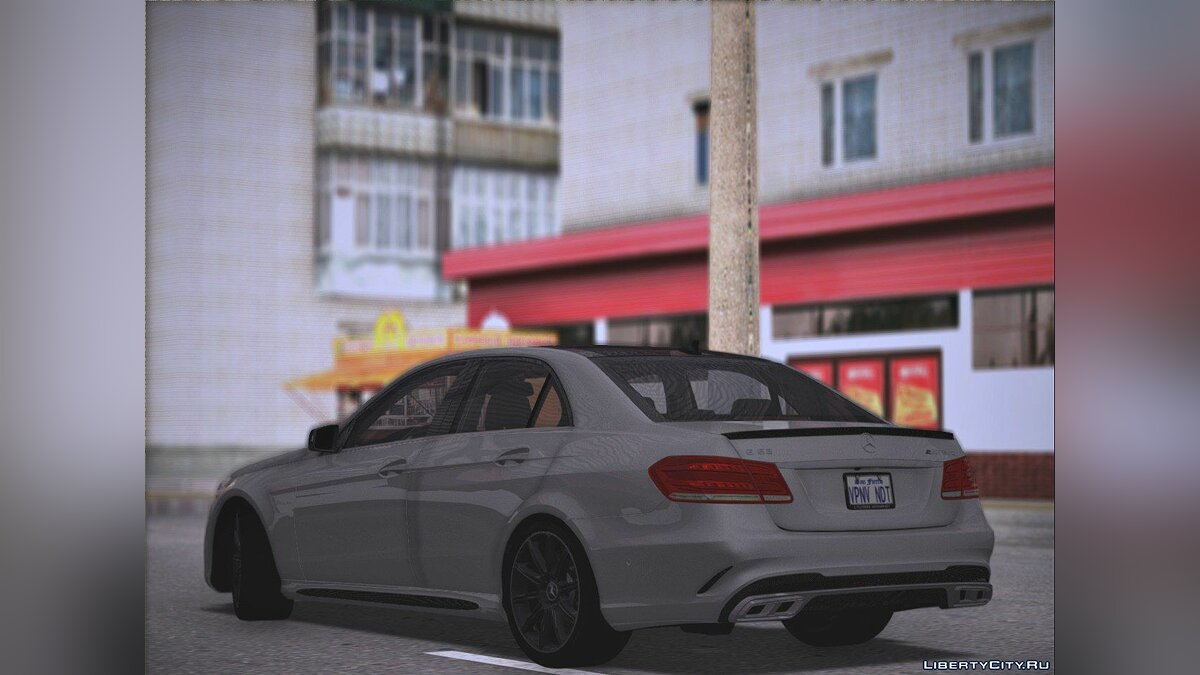 Mercedes-Benz car Mercedes - Benz E63 AMG W212 for GTA San Andreas
