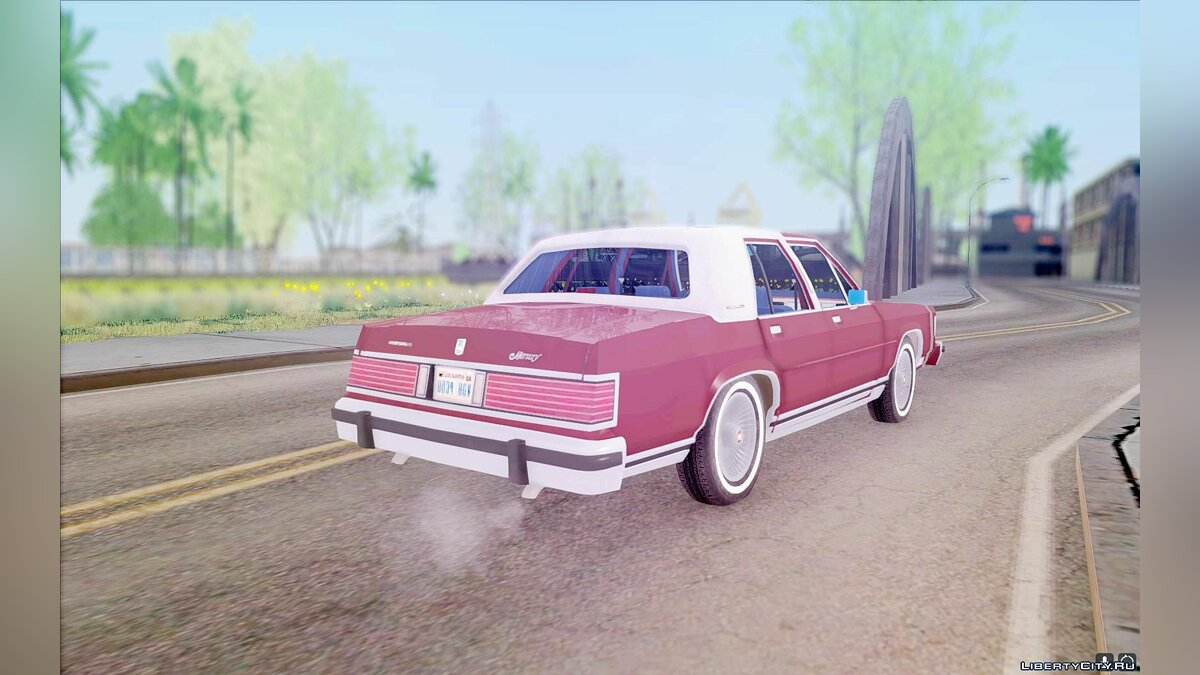 Mercury car Mercury Grand Marquis 1986 for GTA San Andreas