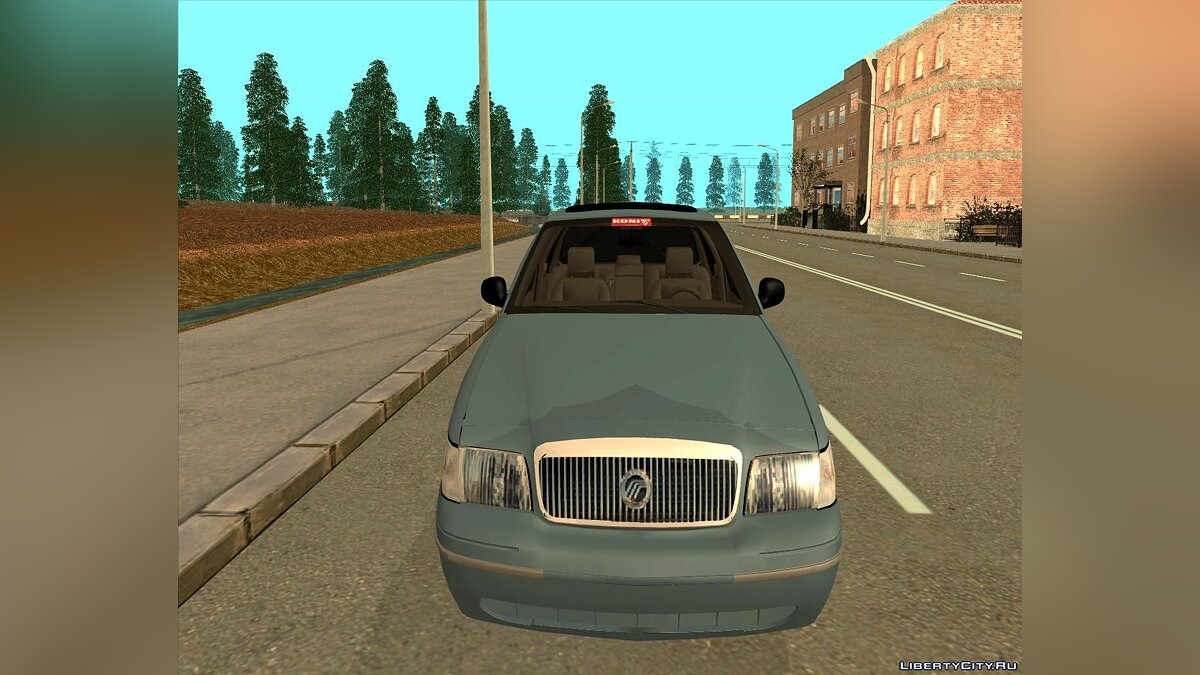 Mercury car Mercury Grand Marquis 2006 for GTA San Andreas