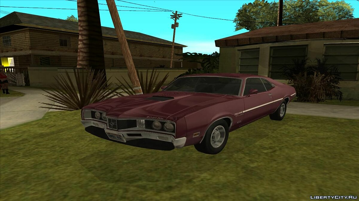 Mercury car Mercury Cyclone Spoiler 1970 for GTA San Andreas