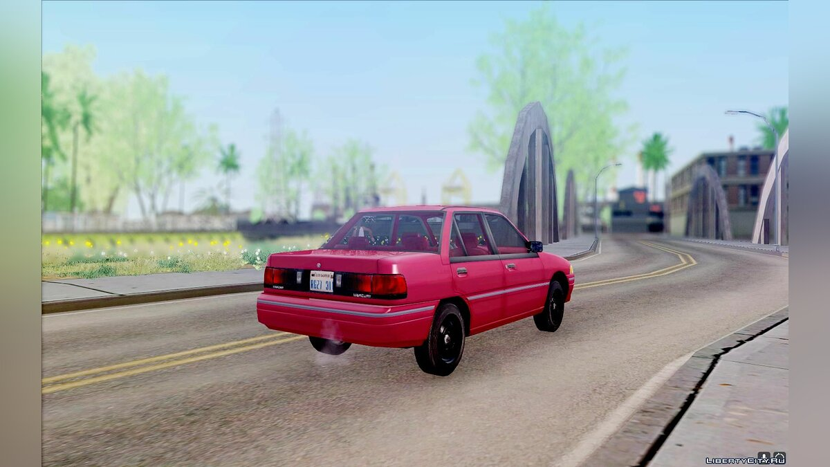 Mercury car Mercury Tracer 1993 for GTA San Andreas