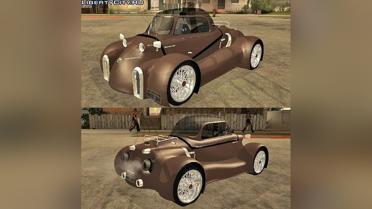 Messerschmitt car Messerschmitt GT500 Tiger Hard tuned for GTA San Andreas