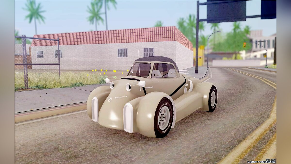 Messerschmitt car Messerschmitt GT500 Tiger v2.0 for GTA San Andreas