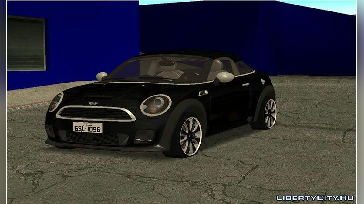 Mini car 2010 Mini Coupe Concept for GTA San Andreas