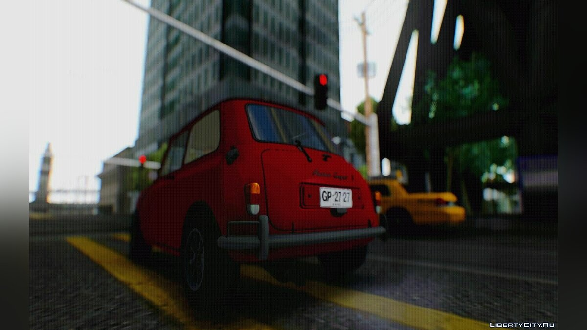 Mini car 1965 Austin Mini Cooper S for GTA San Andreas