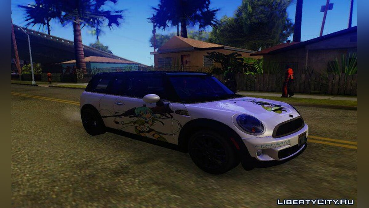 Mini car Mini Cooper Clubman 2011 Itasha for GTA San Andreas