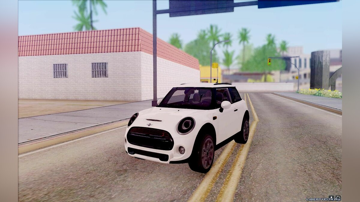 Mini car Mini Cooper S for GTA San Andreas