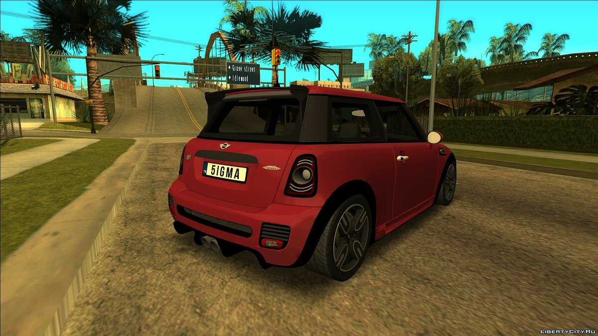 Mini car Mini John Cooper Works for GTA San Andreas