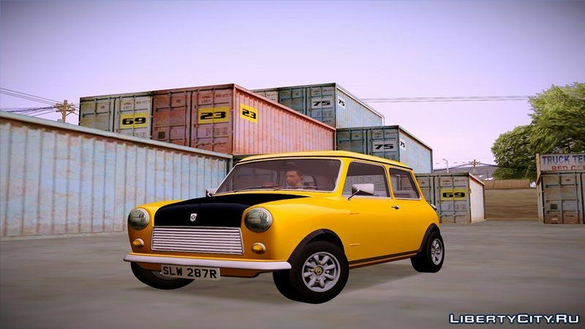 Mini car 1977 British Leyland Mini 1000 for GTA San Andreas