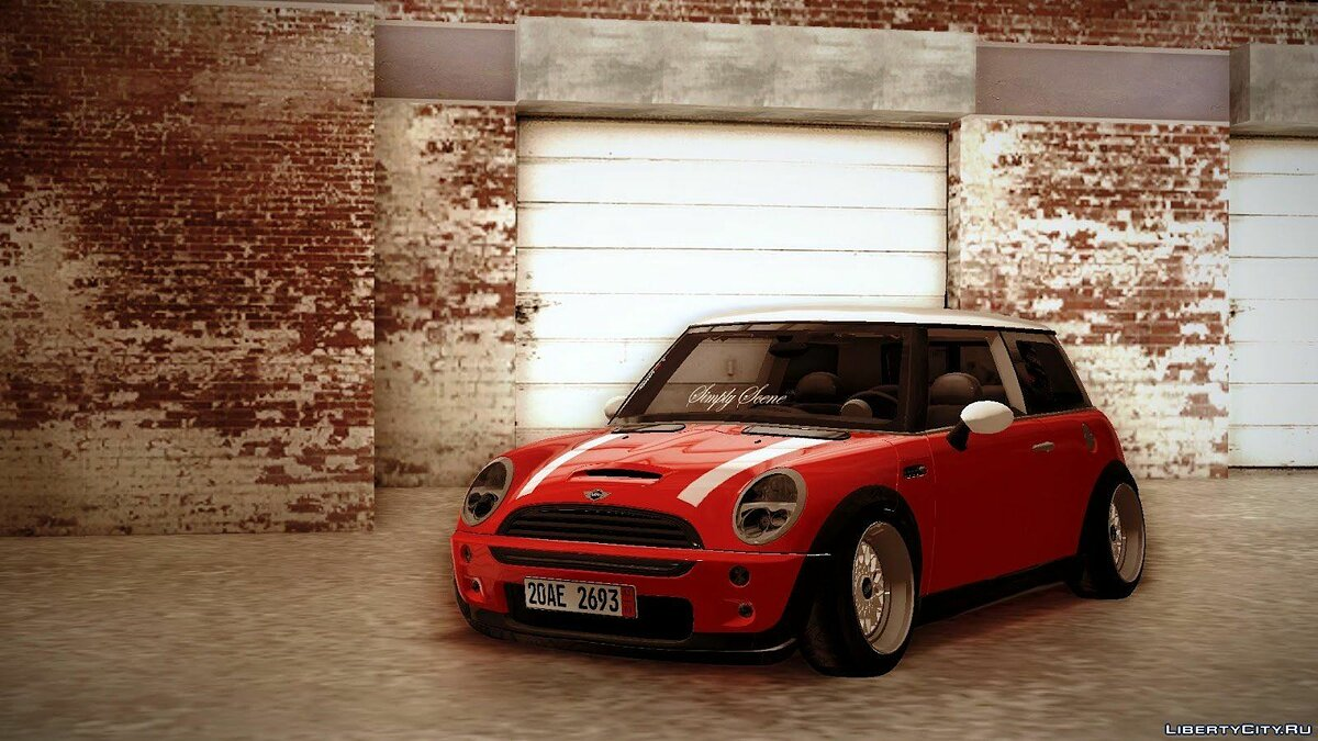Mini car Mini Cooper S Euro for GTA San Andreas