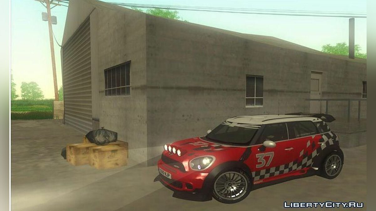 Mini car Mini Countryman WRC for GTA San Andreas