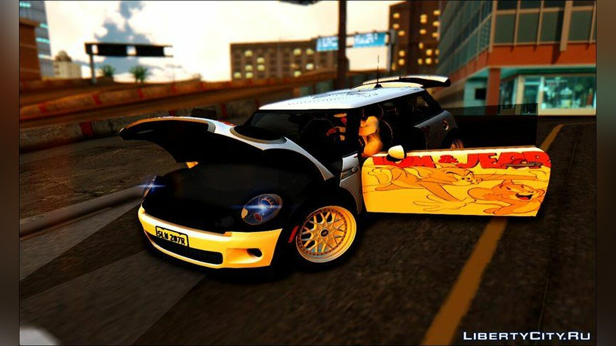 Mini car Mini John Cooper Works Tom And Jerry for GTA San Andreas