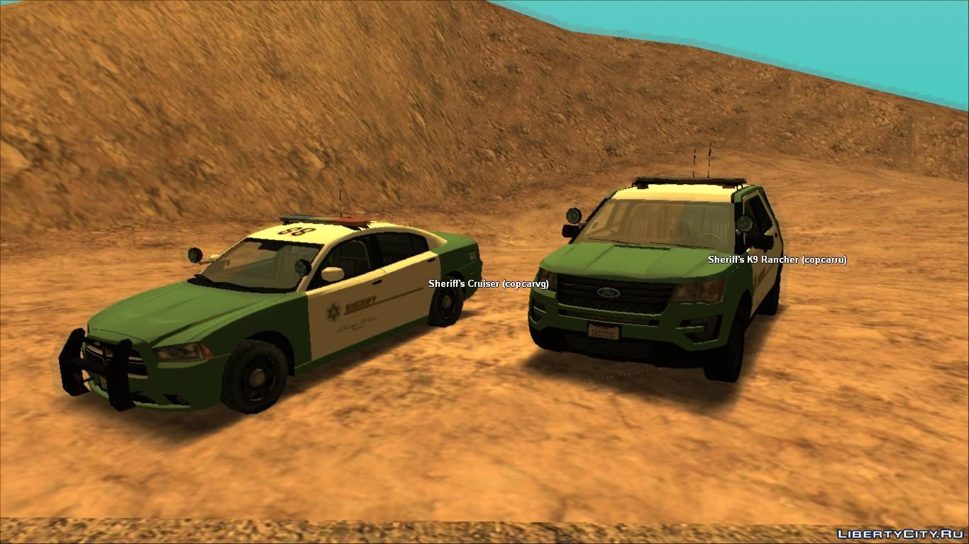 LSPD & LSCSD modpack for GTA San Andreas