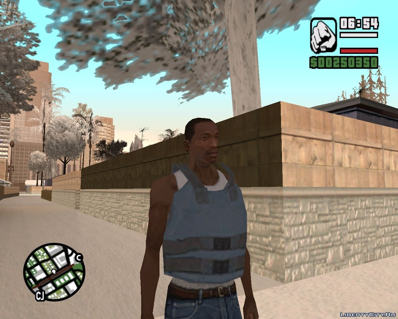 Real Armor Mod for GTA San Andreas