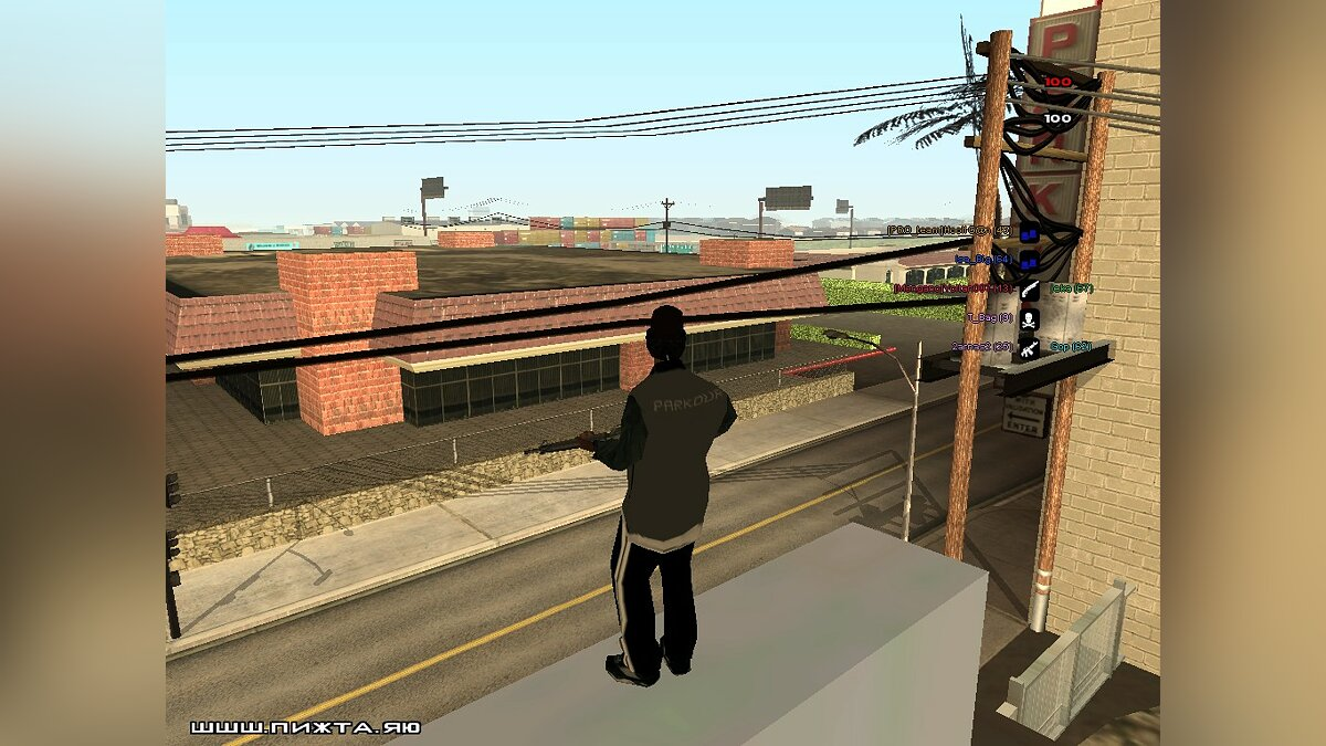 Mod Parkour Ryder 2 for GTA San Andreas