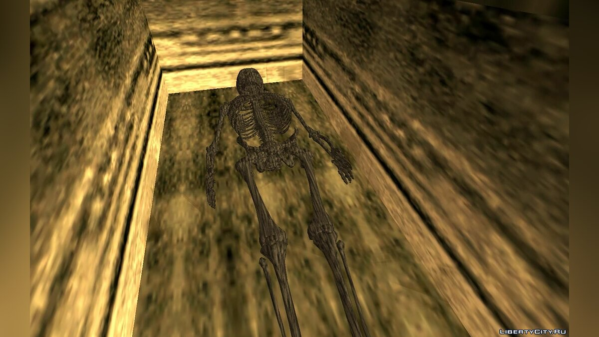 Mod Skeleton in the tomb for GTA San Andreas