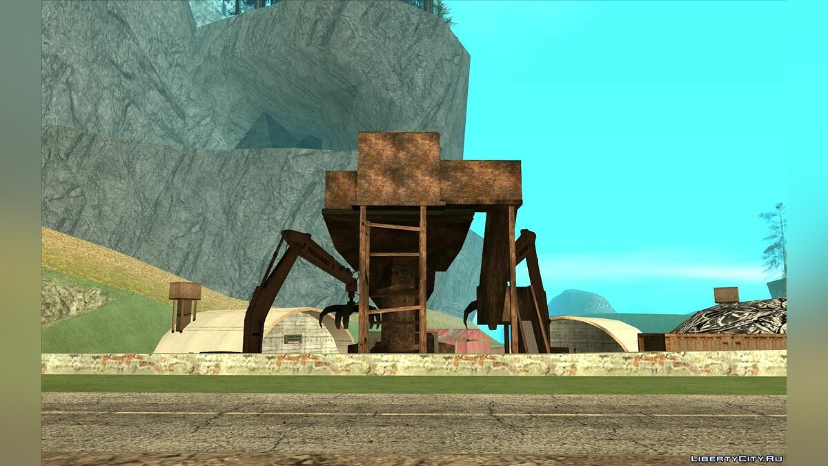 Mod Updated dump near Angel Pine for GTA San Andreas