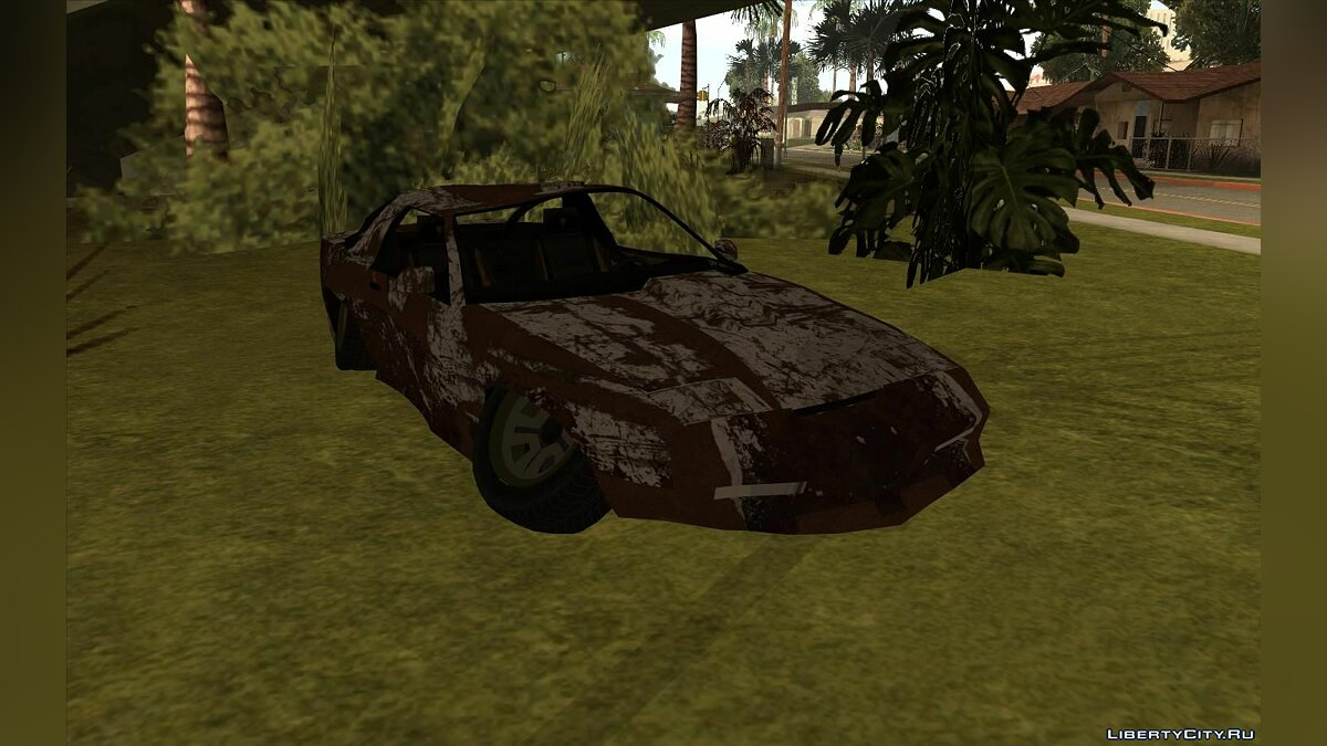 Mod Blown up cars for GTA San Andreas