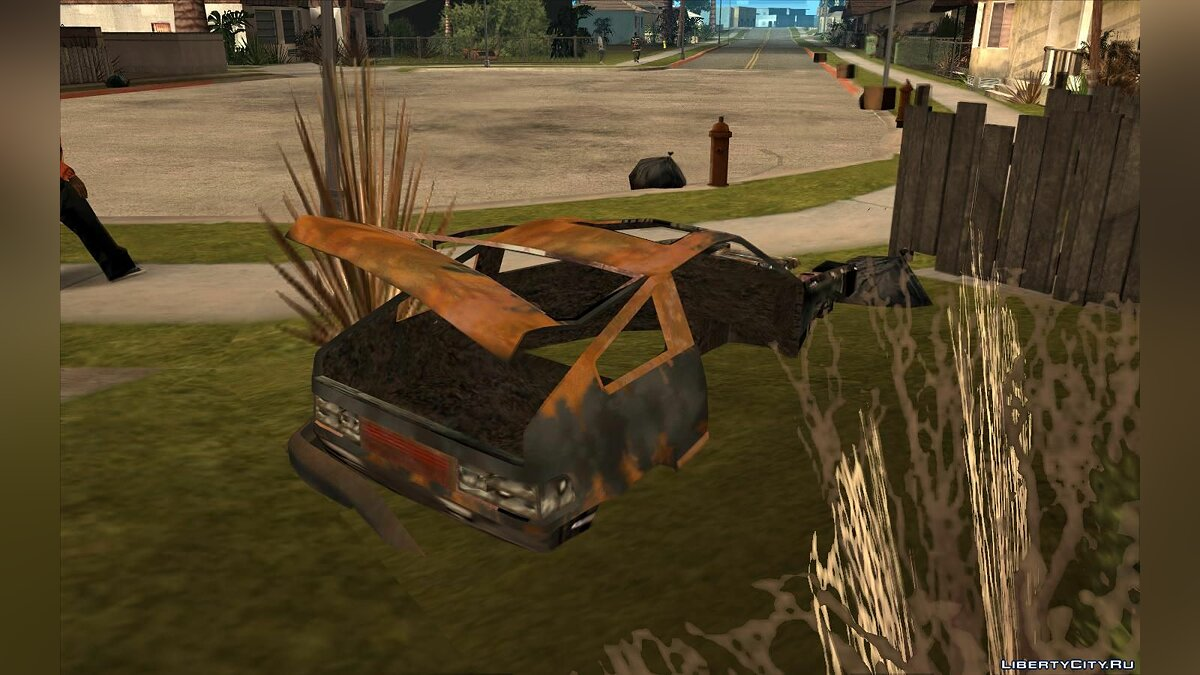 Mod Abandoned cars from GTA 4 for GTA San Andreas