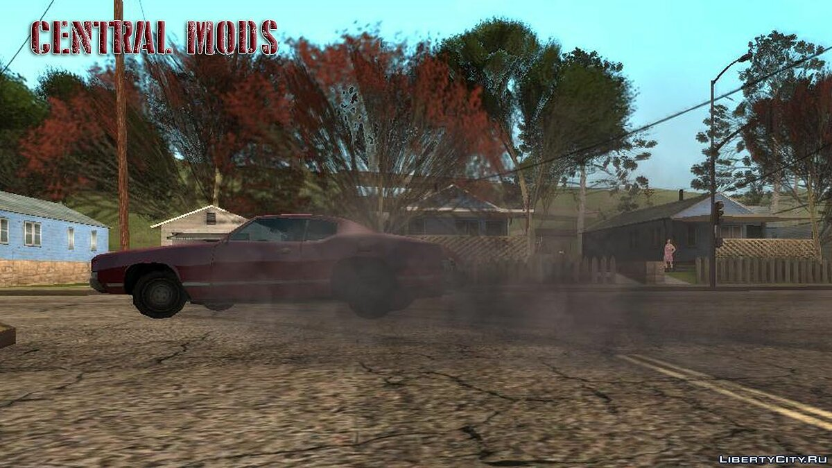 Mod New grass and effects for GTA San Andreas