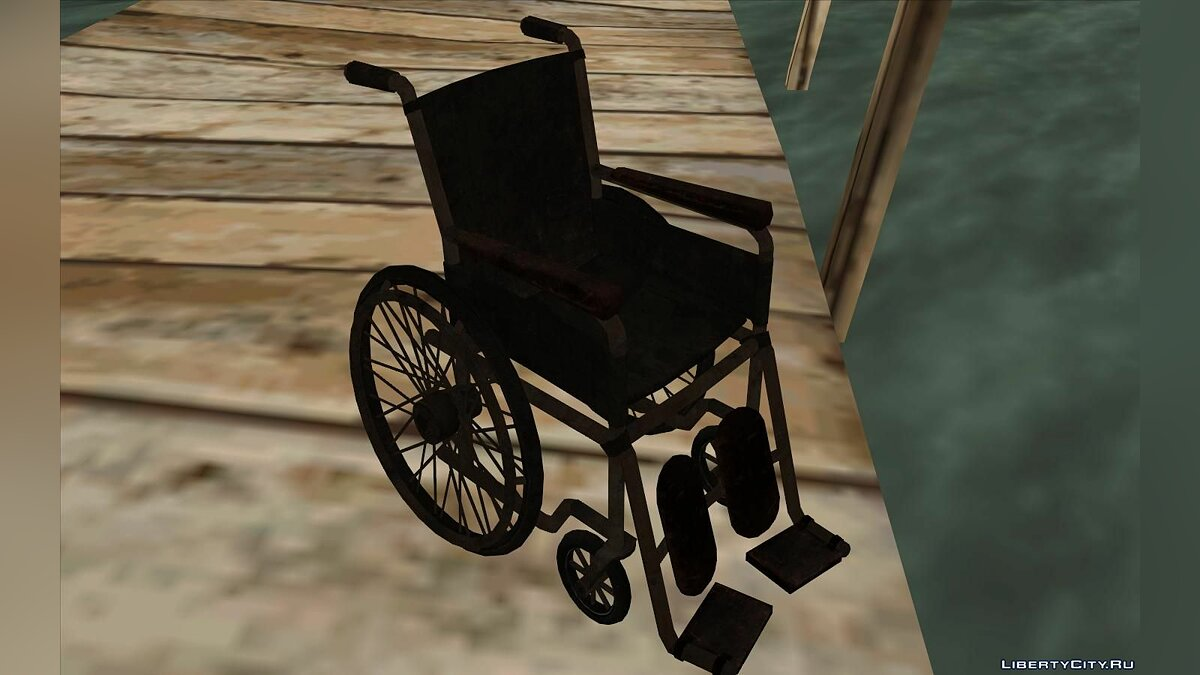 Mod Silent Hill Downpour Wheelchair for GTA San Andreas