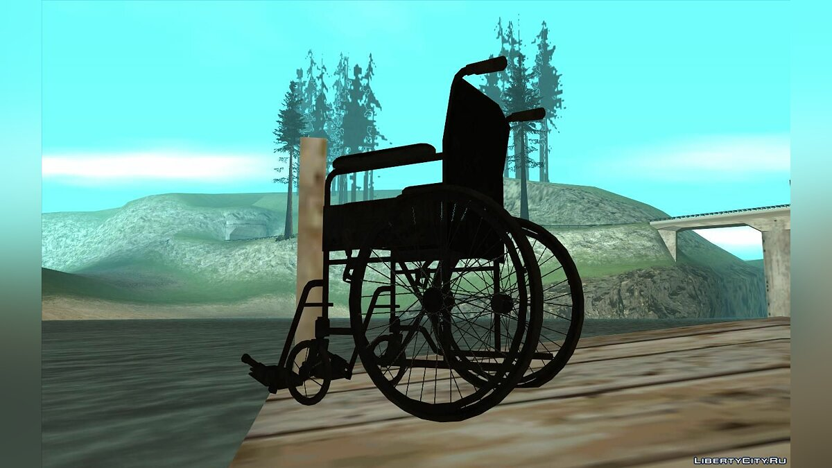 Mod Wheelchair from Fallout 4 for GTA San Andreas