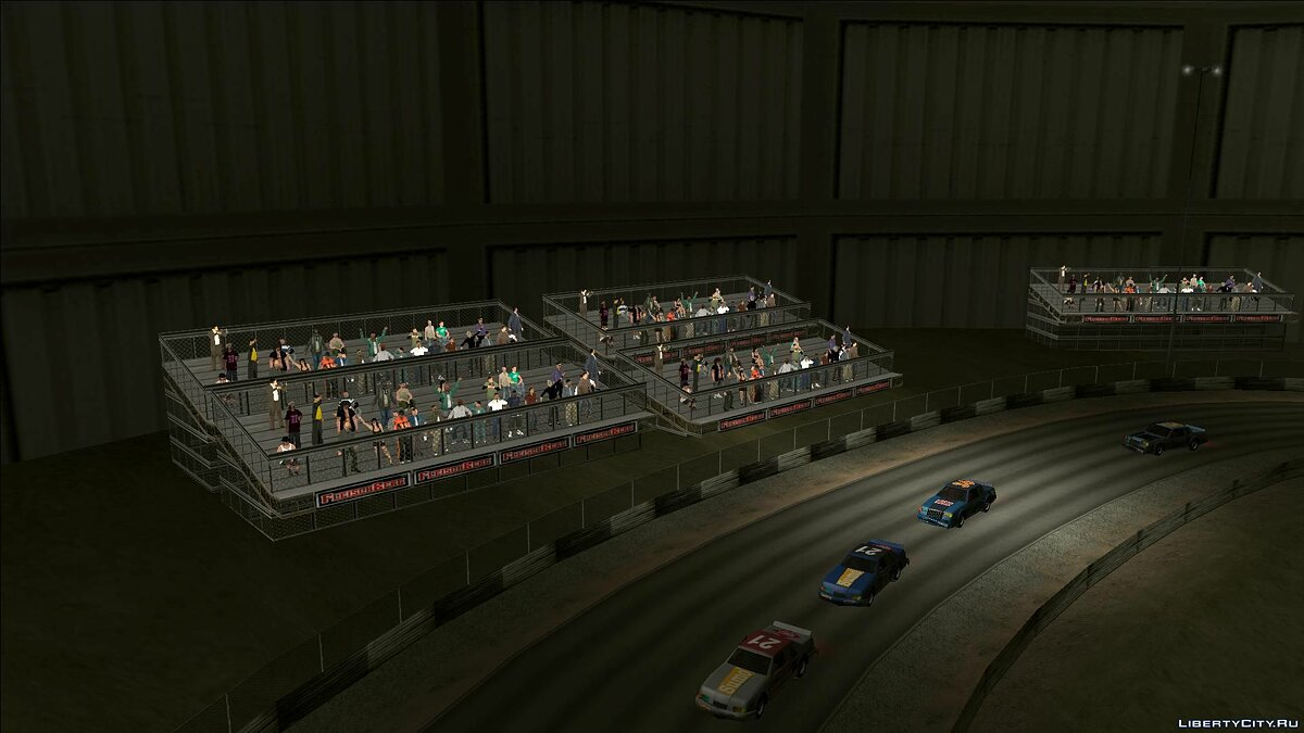Mod 3D models of people at the stadiums - Improved Stadium Crowds for GTA San Andreas