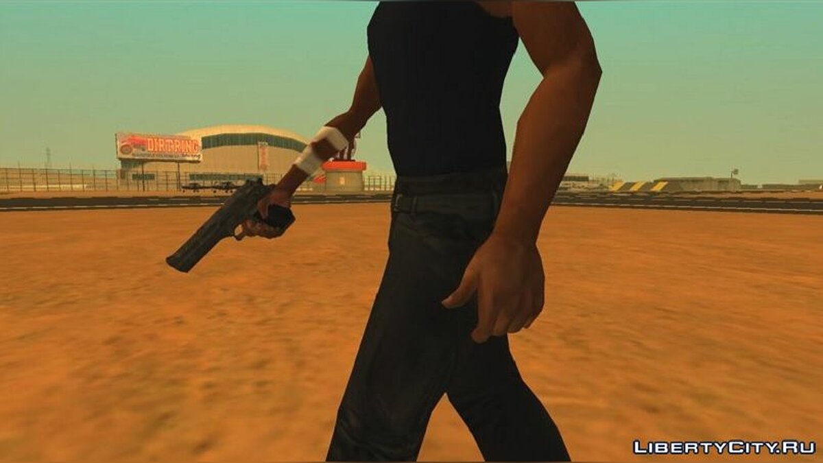 Mod HQ hands for cj for GTA San Andreas