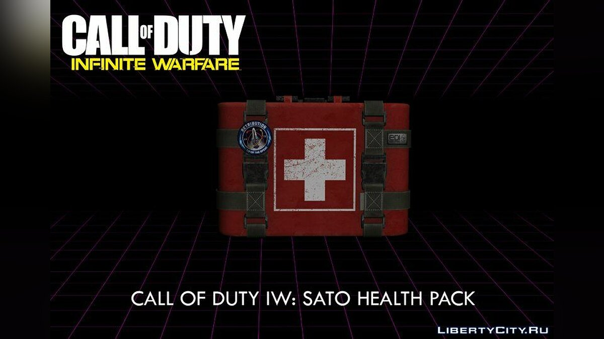 Mod COD: IW: SATO First Aid Kit - plus the health of the main character for GTA San Andreas