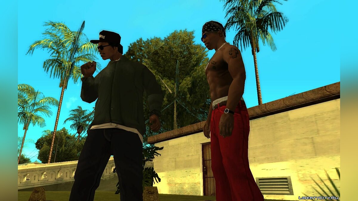 Mod Collection of votes of the main characters v2 for GTA San Andreas