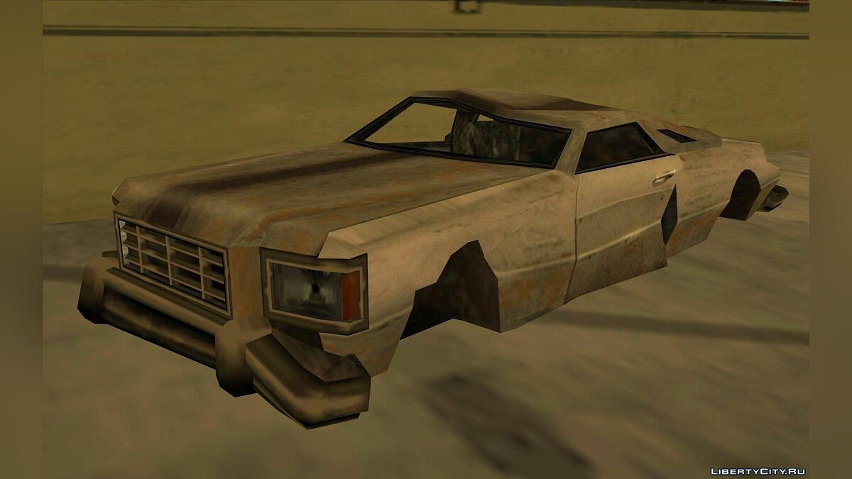 Mod Fixing Abandoned Cars - Prop Vehicles Project v1.1 for GTA San Andreas