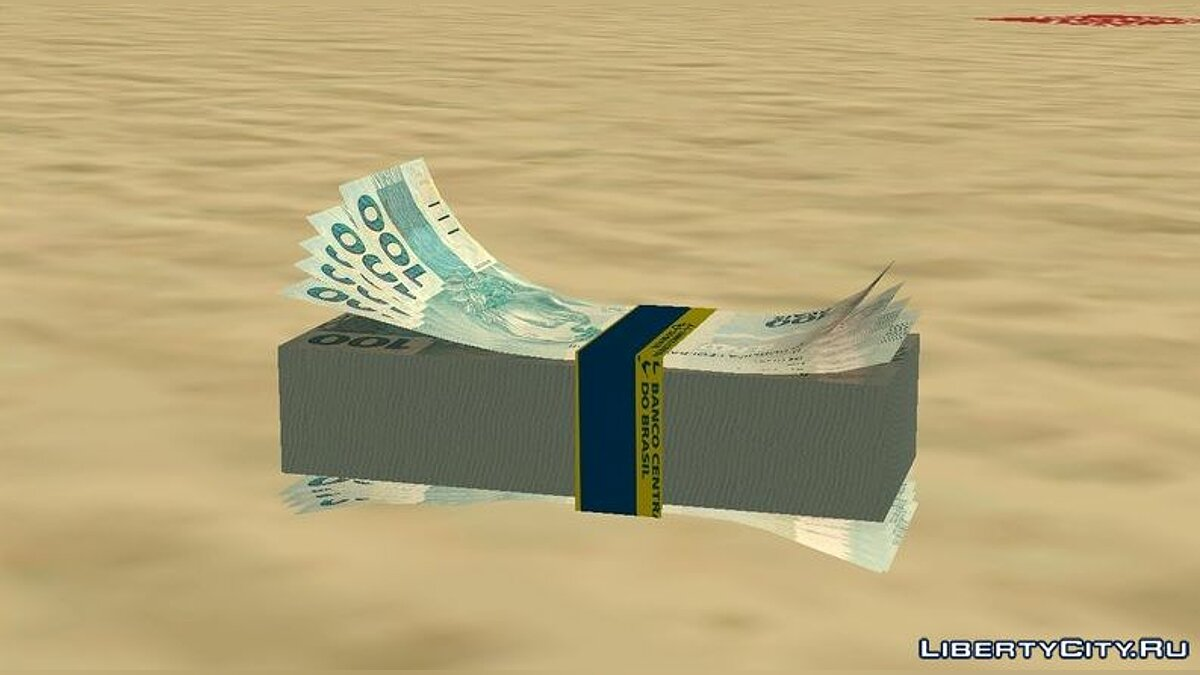 Mod Brazilian Money HD for GTA San Andreas