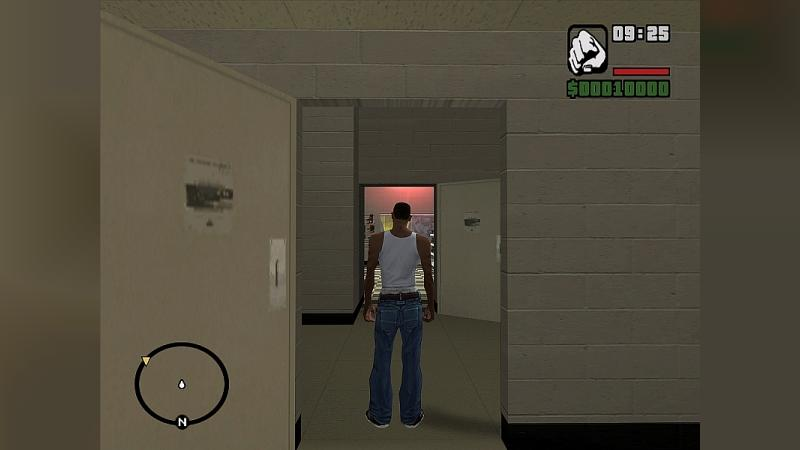 Mod Collision of interiors for GTA San Andreas