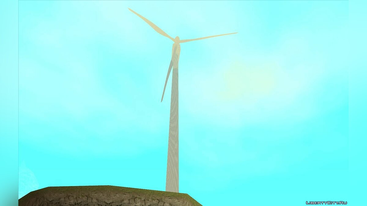 Mod Windmills from GTA 5 for GTA San Andreas