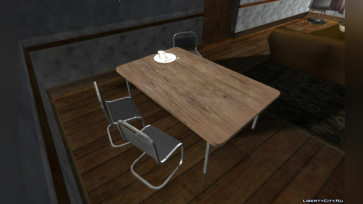 Mod Improved furniture in Karl's house for GTA San Andreas