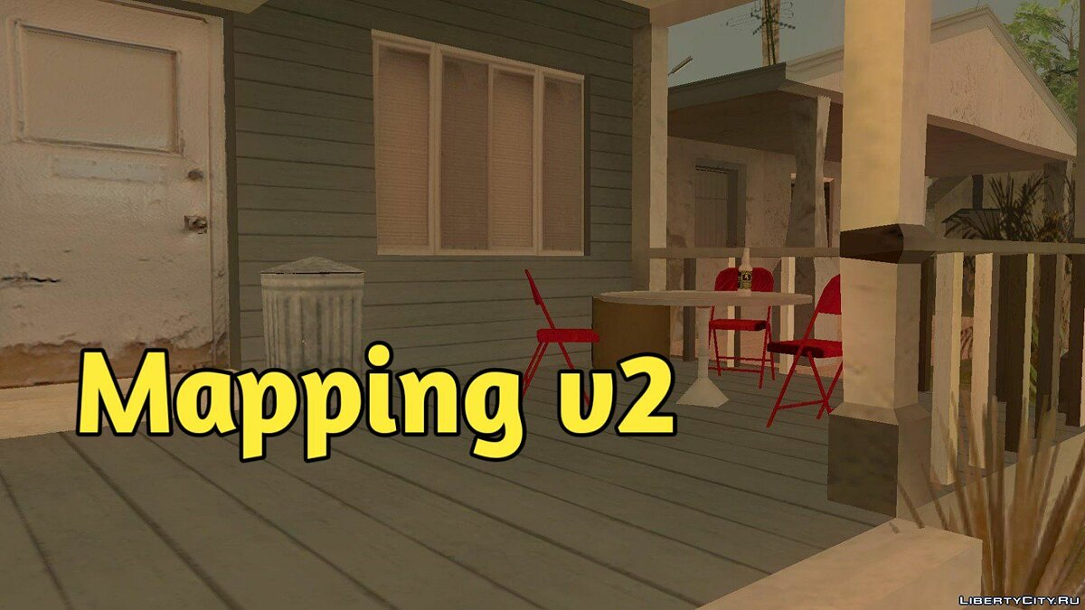 Mod Mapping v2 for GTA San Andreas