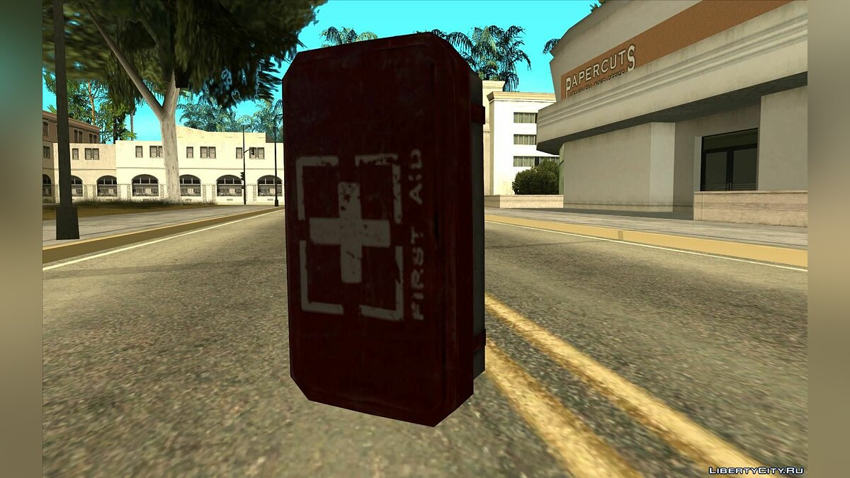Mod Silent Hill Downpour First Aid Kit for GTA San Andreas