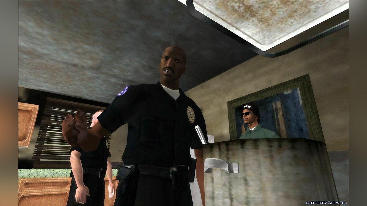Mod Voice acting of cut-scenes with voices from Google Translate (Google Translate) for GTA San Andreas