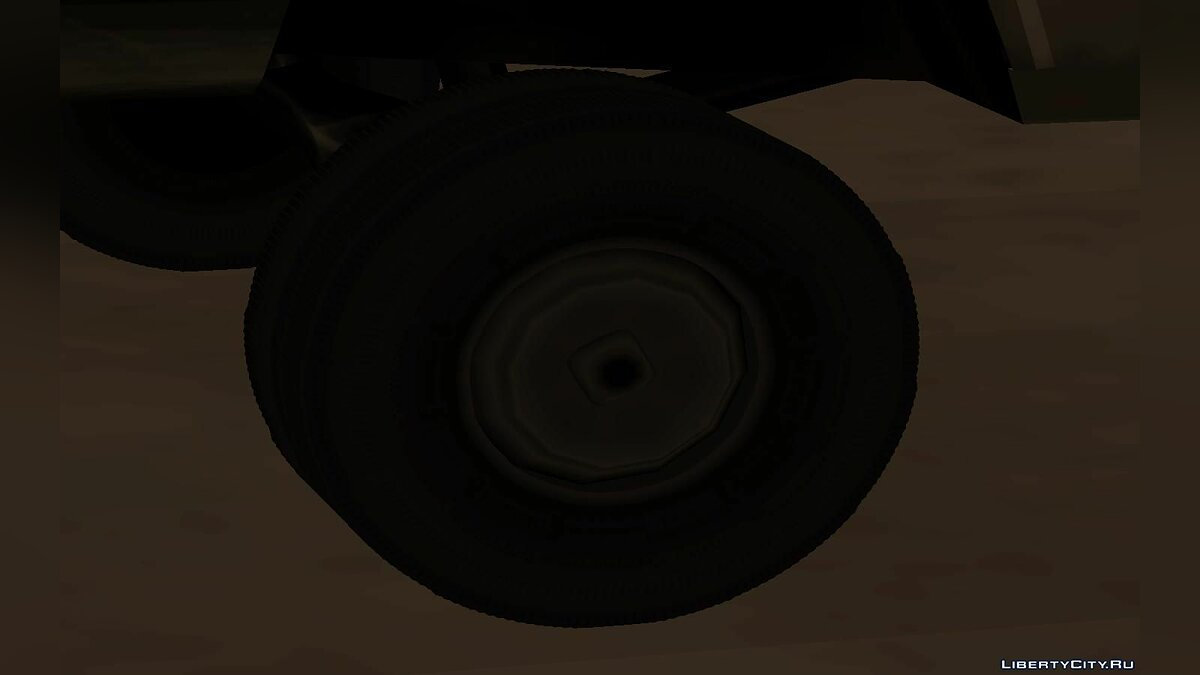 Mod Detailed wheels in tuning centers for GTA San Andreas